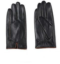 Winter Men's Genuine Leather Gloves Touch Screen Gloves