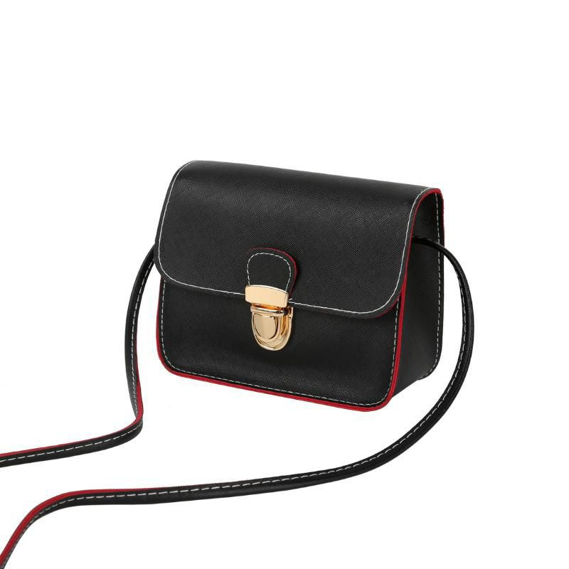 Casual small Composite leather flap handbags ladies party purse cross-body shoulder evening bags