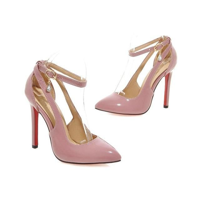 High Heels Shoes Women Pumps Ankle strap Pumps
