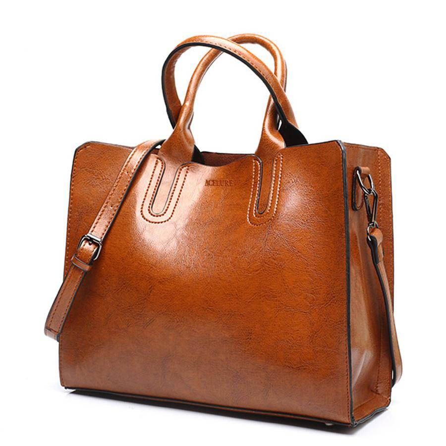 Composite Leather Handbags Big Women Bag High Quality Casual Female Bags Trunk Tote S Shoulder Bag