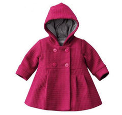 Infants Baby Kids Girl Snow Jacket Coat