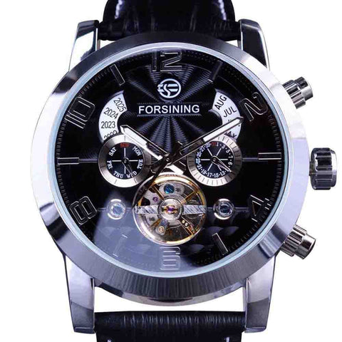 Multi Function Display Men Watch Automatic Watch Clock