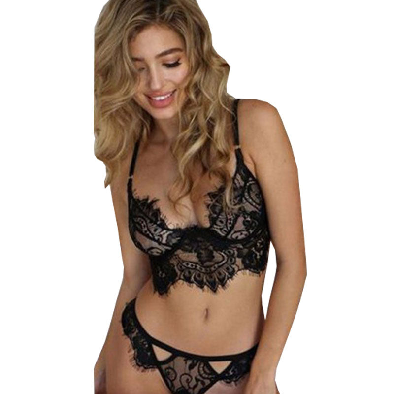Lingerie Set Ladies Bandage Bra And Underwear Set