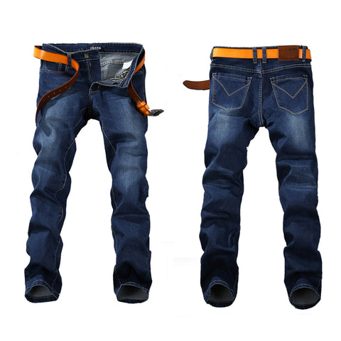 Men Stretch JEANS Straight Denim
