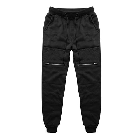 Men Thick Sweatpants Winter Warm Joggers Fleece Lined Baggy Long Sweat Pants