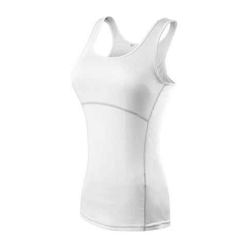 Yoga Shirt Sport Running  Quick Dry Vest High elasticity Tight fitting