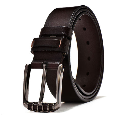 Men's belt genuine leather male strap cowhide belt