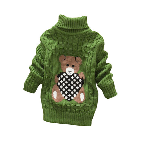 Baby Girls Autumn Winter Warm Outerwear Sweater
