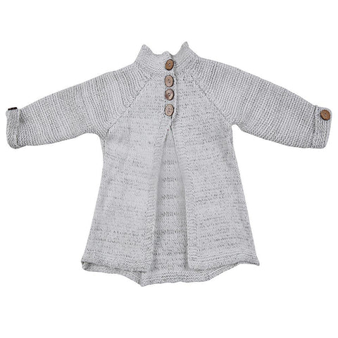 Girls Sweater Toddler Kids Baby Girls Outfit Clothes Button Knitted Sweater Cardigan Coat