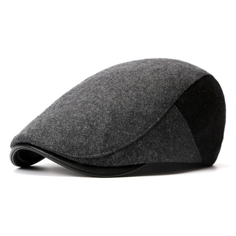 Winter Berets England Style Beret Hats for Men or Women Retro Cap