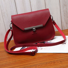 Small Women Messenger Bag Simple Designer Composite Leather Crossbody Bag