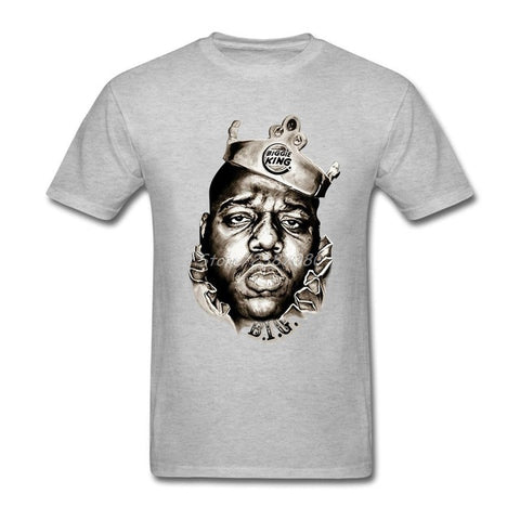 The Notorious Big T Shirt Cotton Crew neck Short Sleeve