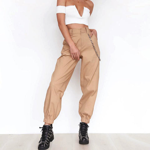 Women Harlan Long Trousers Spring And Autumn Casual Pants Casual Leisure