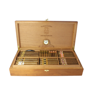 Medium Solid Top Humidor Package