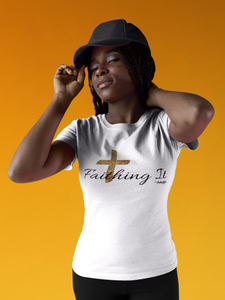 Faithing It (Black) Tee - IndiWrites