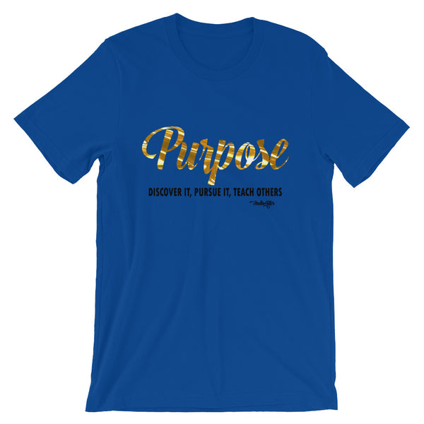 Purpose Tee (Black) - IndiWrites