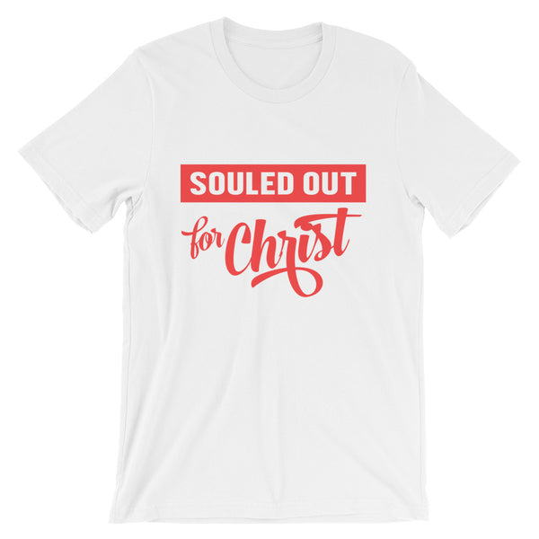 Souled Out (Red) tee