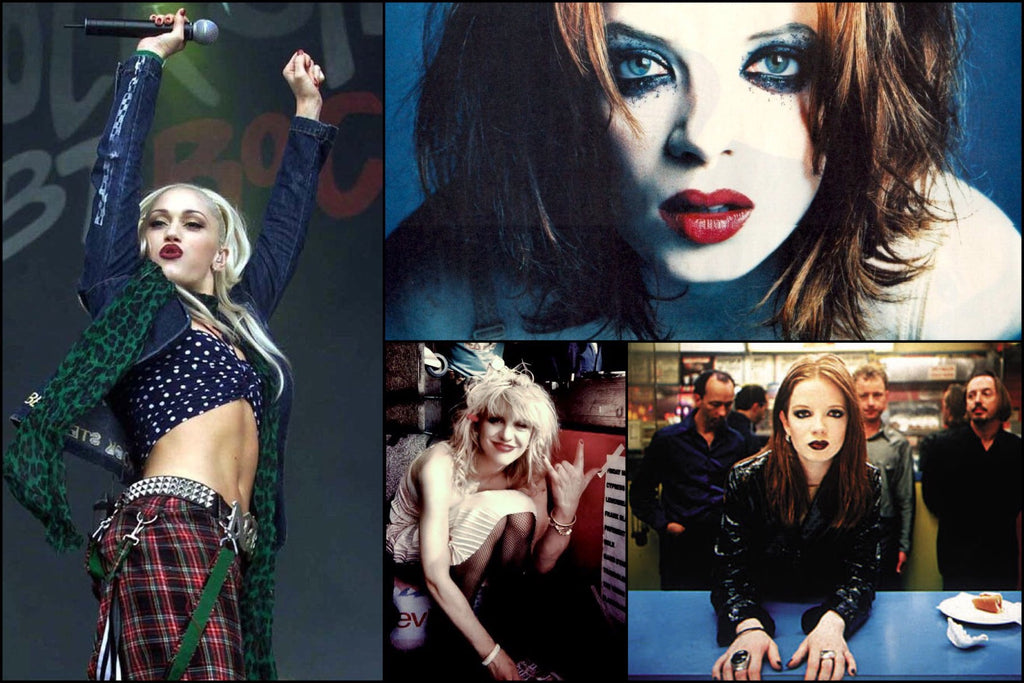 Shirley Manson, Gwen Stefani, Courtney Love