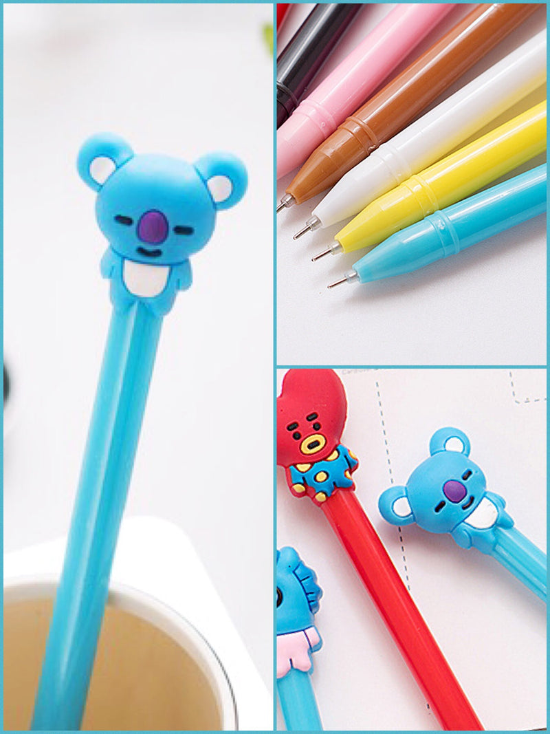 BlissGirl - Gel Pen Friend - Koala / 0.5mm - Harajuku - Kawaii - Alternative - Fashion