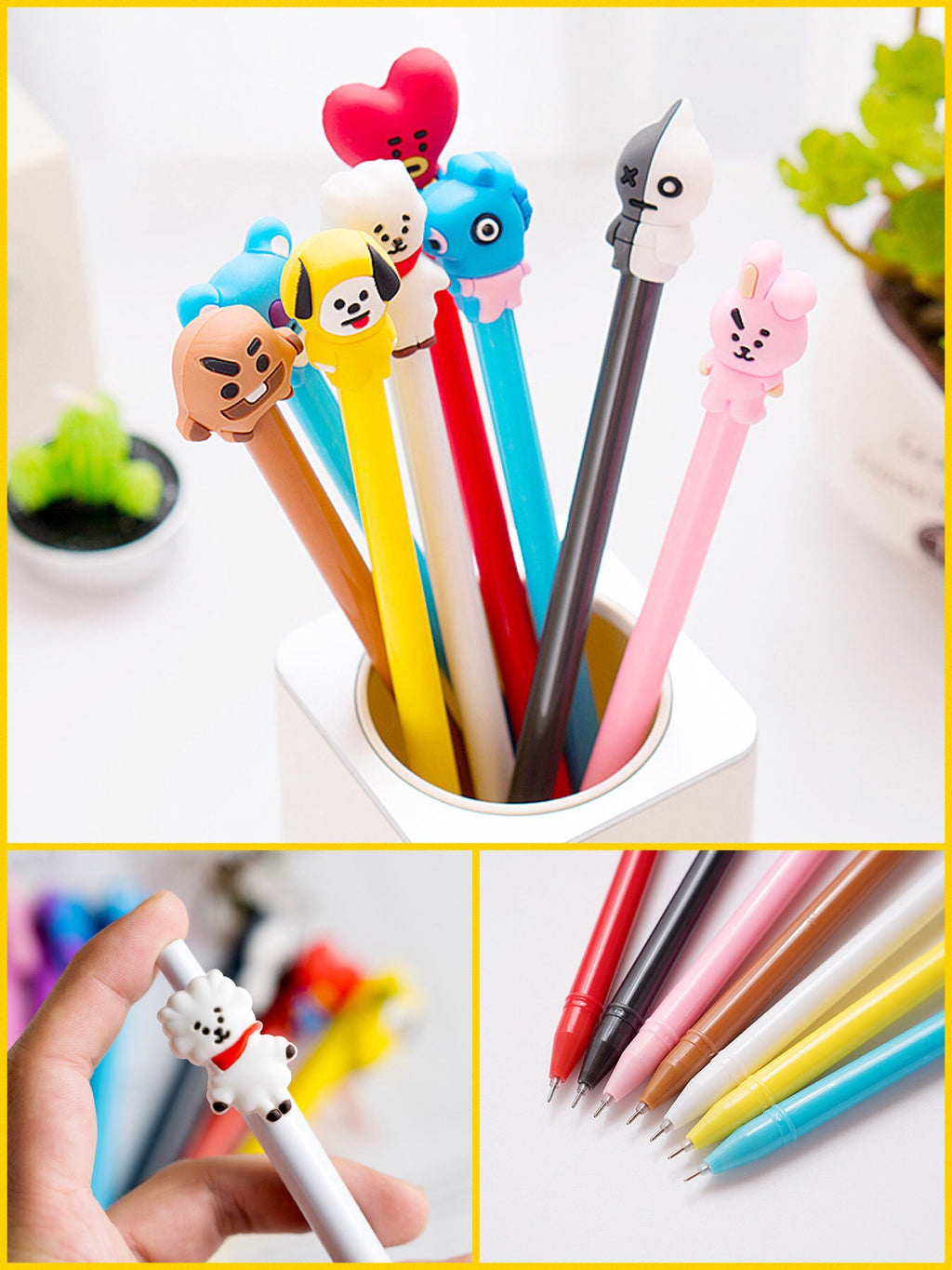 BlissGirl - Gel Pen Friend - - Harajuku - Kawaii - Alternative - Fashion