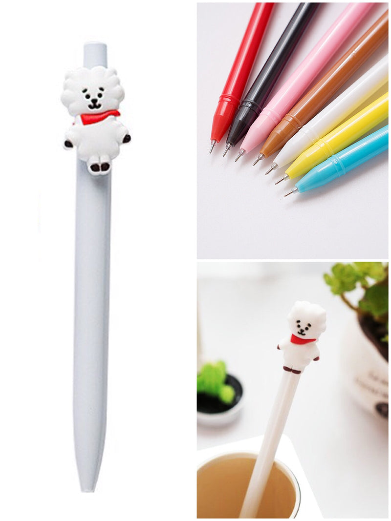 BlissGirl - Gel Pen Friend - Alpaca / 0.5mm - Harajuku - Kawaii - Alternative - Fashion