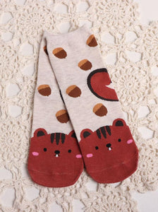 BlissGirl - Animal Socks - Squirrel - Harajuku - Kawaii - Alternative - Fashion