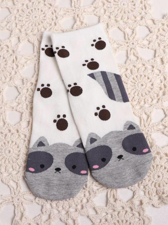 BlissGirl - Animal Socks - Panda - Harajuku - Kawaii - Alternative - Fashion