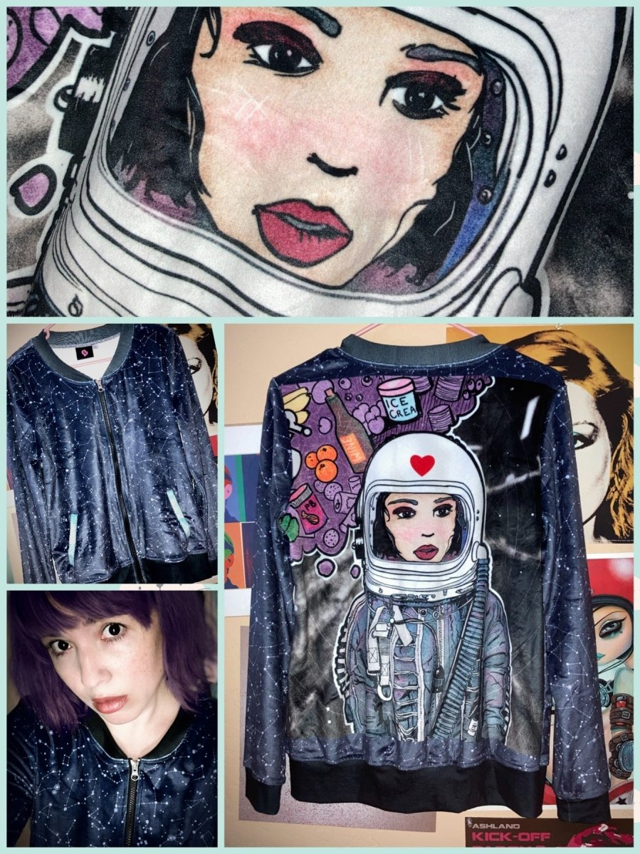 BlissGirl - Astronaut Jacket - XS - Harajuku - Kawaii - Alternative - Fashion