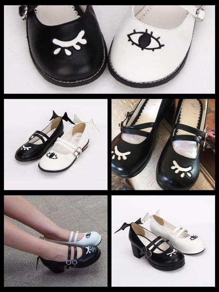 BlissGirl - Flirty Mary Janes - Harajuku - Kawaii - Alternative - Fashion