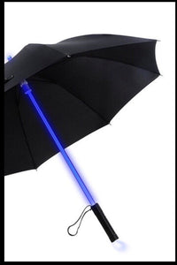 BlissGirl - Blade Runner Light Up LED Umbrella - Black - Harajuku - Kawaii - Alternative - Fashion