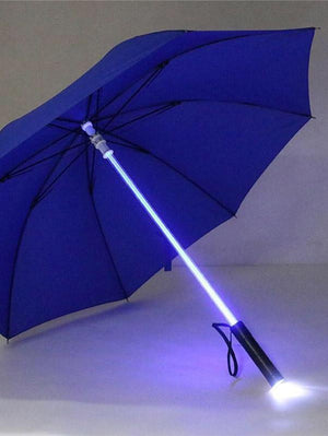 BlissGirl - Blade Runner Light Up LED Umbrella - Blue - Harajuku - Kawaii - Alternative - Fashion