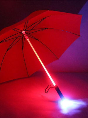 BlissGirl - Blade Runner Light Up LED Umbrella - Red - Harajuku - Kawaii - Alternative - Fashion