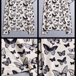 BlissGirl - Butterfly Beauty Long Sleeve Top - Harajuku - Kawaii - Alternative - Fashion