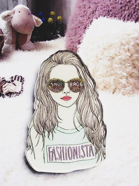 BlissGirl - Fashionista Friend Pins - Cool - Default Title - Harajuku - Kawaii - Alternative - Fashion