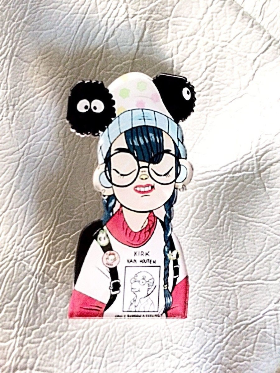 BlissGirl - Fashionista Friend Pins - Nerdy - Harajuku - Kawaii - Alternative - Fashion