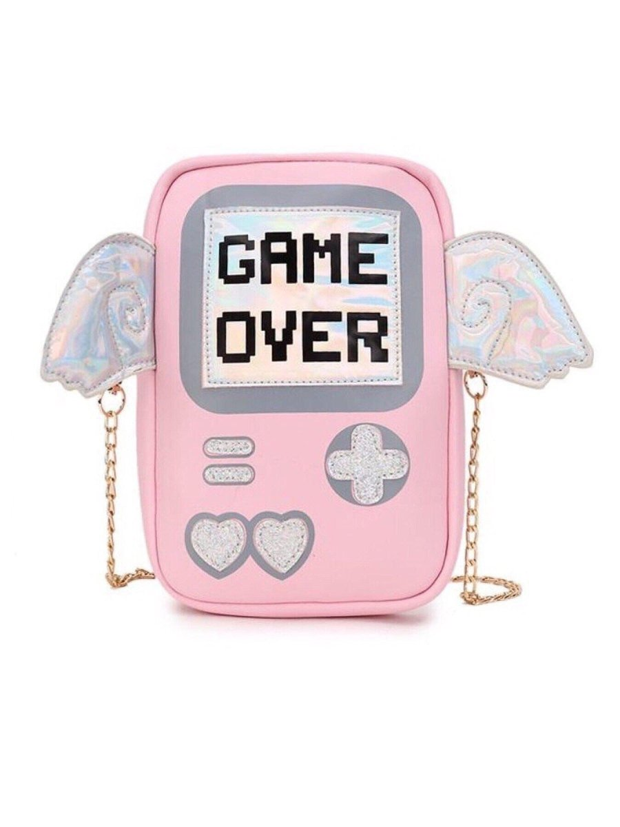 BlissGirl - Game Over Clutch - Harajuku - Kawaii - Alternative - Fashion
