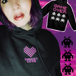 BlissGirl - Game Over Hoodie - S / Black - Harajuku - Kawaii - Alternative - Fashion
