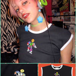 BlissGirl - Happy Earth Robot Tee - S - Harajuku - Kawaii - Alternative - Fashion