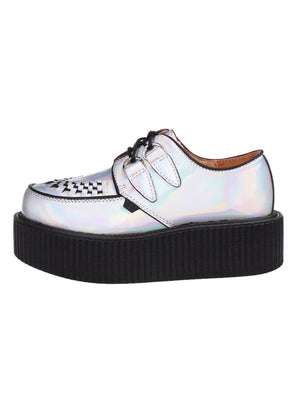 BlissGirl - Holographic Creepers - Harajuku - Kawaii - Alternative - Fashion