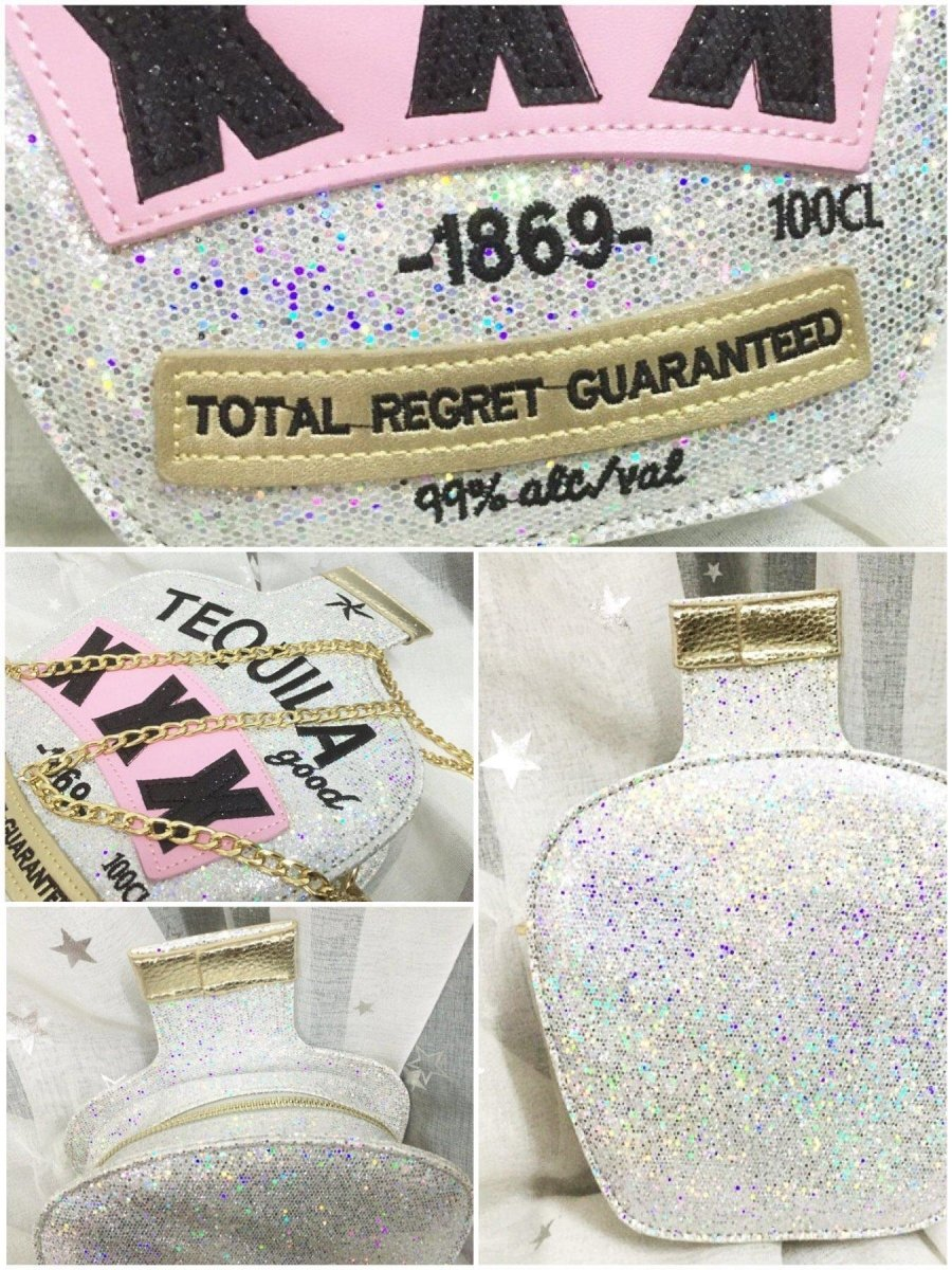 BlissGirl - I Love Tequila Purse - Harajuku - Kawaii - Alternative - Fashion