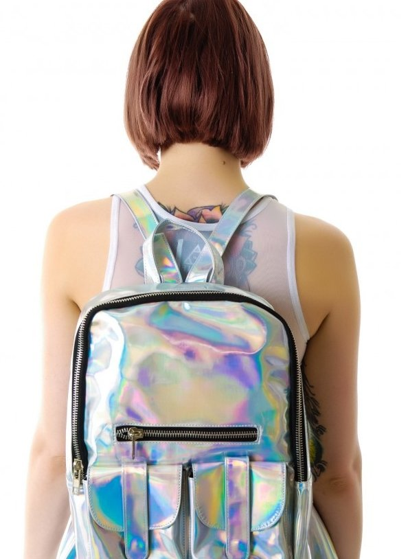 BlissGirl - Iridescent Fairy Backpack - Harajuku - Kawaii - Alternative - Fashion