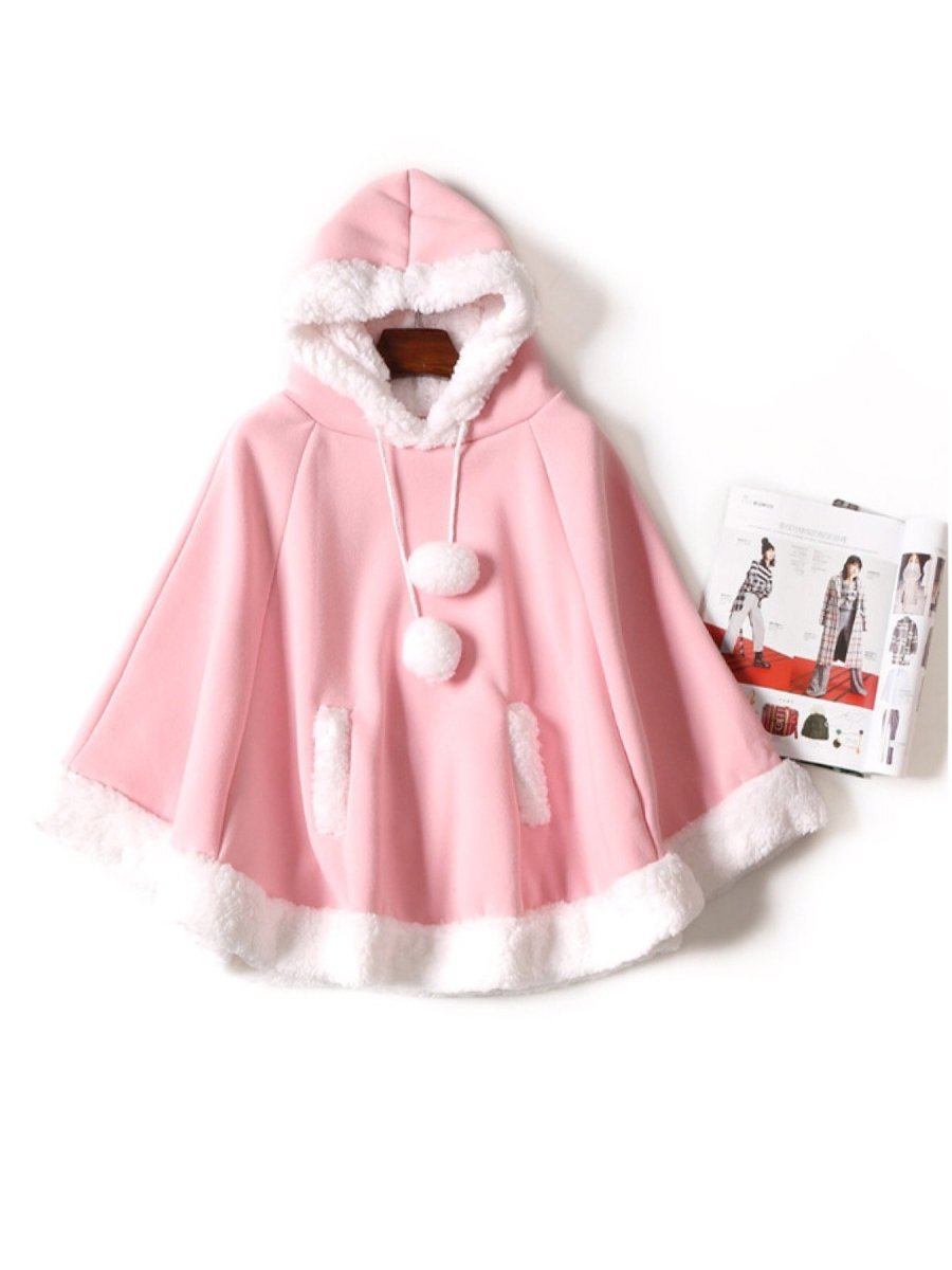 BlissGirl - Kawaii Cape Jacket - Pink - Harajuku - Kawaii - Alternative - Fashion