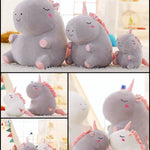 BlissGirl - Kawaii Fat Unicorn Stuffed Animal - Harajuku - Kawaii - Alternative - Fashion