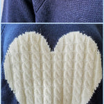 BlissGirl - Kawaii Heart Cozy Sweater - Harajuku - Kawaii - Alternative - Fashion