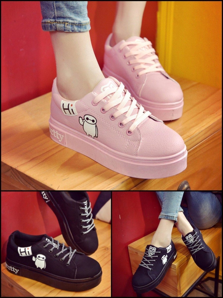 BlissGirl - Kawaii Hi Shoes - Harajuku - Kawaii - Alternative - Fashion