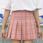 BlissGirl - Kawaii Plaid Pleated Tennis Skirt - Harajuku - Kawaii - Alternative - Fashion