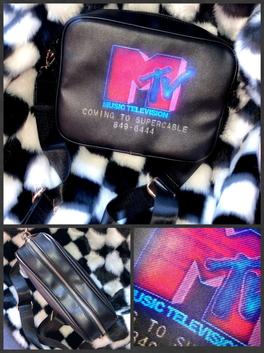 BlissGirl - MTV Supercable Bag - Universal - Harajuku - Kawaii - Alternative - Fashion