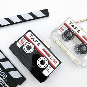 BlissGirl - Retro Cassette Tape Purse - Harajuku - Kawaii - Alternative - Fashion