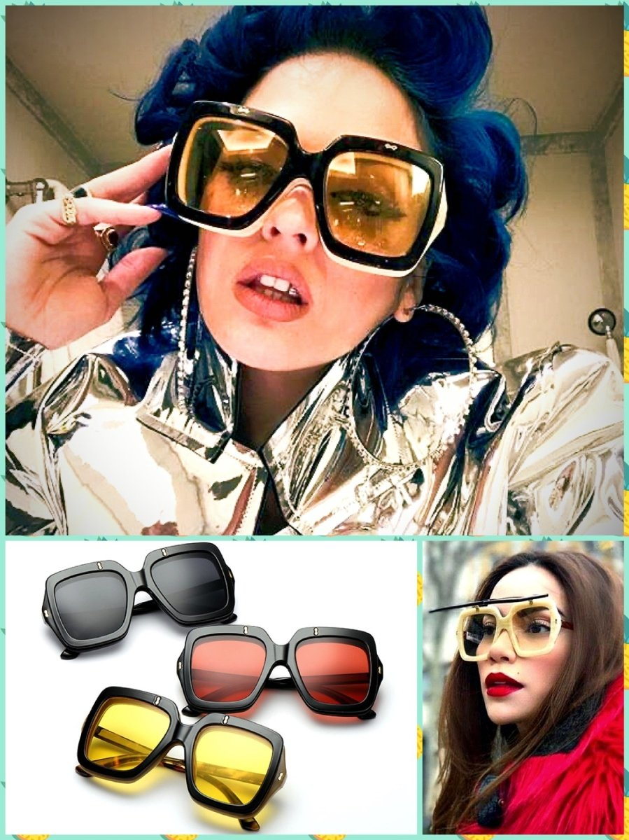 BlissGirl - Retro Flip Sunglasses - Harajuku - Kawaii - Alternative - Fashion
