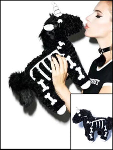 BlissGirl - Skeleton Unicorn Purse - black - Harajuku - Kawaii - Alternative - Fashion